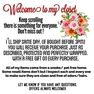 Accessories - Welcome To My Closet...Offers Always Welcome🌺